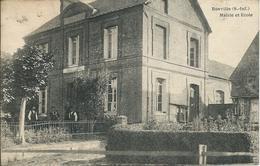 Bosville (76) - Mairie Et Ecole - Animé - Frankreich