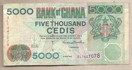 Ghana - Banconota Circolata Da 5000 Cedis P-34c - 1998 - Ghana