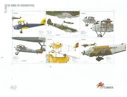 75 Anos Da Arma De Aeronáutica - Blocks & Sheetlets