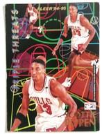 CARTE HAKEEM OLAJUWON SCOTTIE PIPPEN TRIPLE THREATS  FLEER 94-95 BASKETBALL - Basketball - NBA