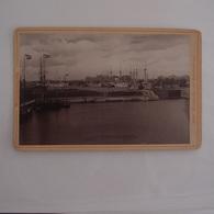 Photo Ancienne Wilhelmshaven  Allemagne Port Bateaux - Fotos