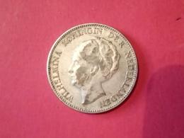 1930 ARGENT Netherlands 1 Gulden - Monarquía / Nobleza