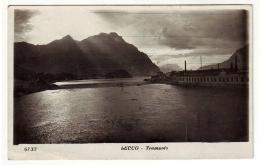 LECCO Fotografica Tramonto 1932 - Lecco