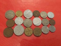 Lot De 18 Pièces Voir Le Scan - Monete & Banconote