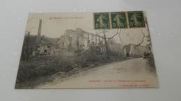 Cp Senones - Ruines Du Tissage De La Poterosse - Senones