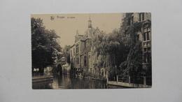 Belgique  : Bruges  : CPA :le Dyver  :carte Neuve - Belgique