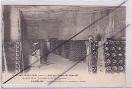Saint-Emilion (33) Clos Des Cordeliers (caves) Vins Sur Pointe Et Remuage.Grand Vin Mousseux (1er Cru Classé) - Saint-Emilion