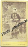 Photo Cdv XIX Militaire Cavalier Spahis Cavalry Colonial 1880 SIDI BEL ABBES Algérie Afrique - Oud (voor 1900)