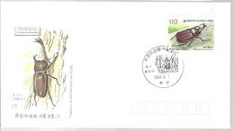 FDC 1994 KOREA - Insekten
