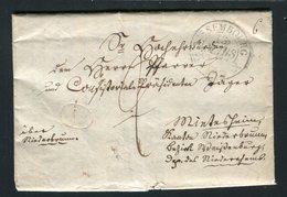 Belle Lettre De Wissembourg ( ? ) Pour Niderbrunn ( 1833 ) - Marcofilia (sobres)