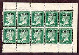 Algérie  N°9a X5 (demi-carnet) N*/** TB Cote Min 100 Euros !!!RARE - Algérie (1924-1962)