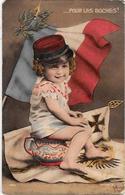 CPA MORINET Satirique Caricature Guerre 14-18 Patriotique Germany Kaiser écrite Poilu Enfants Bébé  Pot De Chambre - Patriotiques