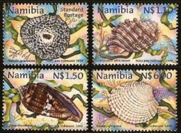 NAMIBIA, 1998, MNH  Stamps, Shells Of Namibia, Michel 942-945, #13463 - Namibië (1990- ...)