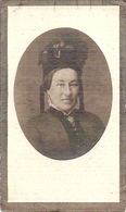 DP. OORLOG 14-18 MELANIE VANDEVELDE ° ST JORIS 1836 - + OORLOGSRAMP TE VEURNE 1917 - Religion & Esotérisme