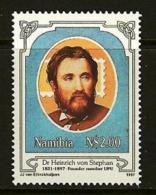 NAMIBIA, 1997, MNH  Stamps, Heinrich Von Stephan, Michel 835, #13229 - Namibië (1990- ...)