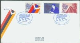 Armenia,R.Of.Mountainous Karabakh,10-12-1991,the First President Of The Republic,FDC. - Armenia