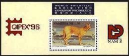NAMIBIA, 1996, MNH Miniature Sheet Stamps, Capex, Michel Block 24, #6906 - Namibia (1990- ...)