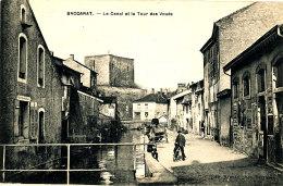 AK 631 / C P A-   BACCARAT   (54)  LE CANAL ET LA TOUR DES VOUES - Baccarat