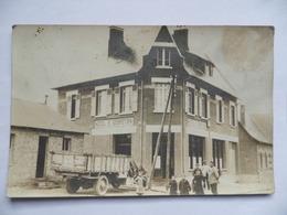 (Aisne - 02 - Carte Photo....) -  JUSSY -   HOTEL ST-SEBASTIEN...............voir Scan - France