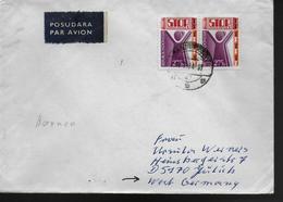 INDONESIE  Lettre  1984 Maladies Polio - Disease