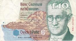 BILLETE DE IRLANDA DE 10 POUNDS DEL AÑO 1995  (BANKNOTE) - Ireland