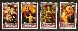 Burundi 1983 OCBnr 910-913 *** MNH  Cote 50 Euro Noel Kerstmis Christmas - Burundi