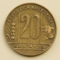 Argentina - 20 Centavos - 1949 - Very Fine - Argentina