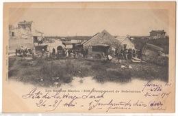 Cp Les Saintes Maries - Campement De Bohémiens - Saintes Maries De La Mer