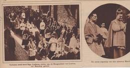 LEUVEN...1929... MRG. LADEUZE RECTOR VAN DE HOGESCHOOL TOT BISSCHOP GEWIJD - Oude Documenten