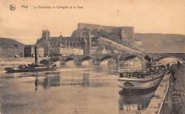 HUY - La Forteresse, La Collégiale Et Le Pont - Huy