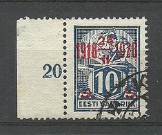 ESTONIA 1928 Michel 70 Mit Bogenrand O - Estland