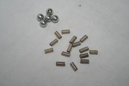 Lot De 20 Perles En ARGENT - Perles