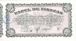 BILLETE DE ESPAÑA DE 100 PTAS DEL AÑO 1970   (BANKNOTE) PAPEL DE FIANZAS - 100 Pesetas