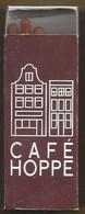 Luciferdoosje. CAFÉ HOPPE.SPUI 18 - 20, AMSTERDAM. Matchbox. Allumettes. Luciferdoos. Lucifer - Zündholzschachteln