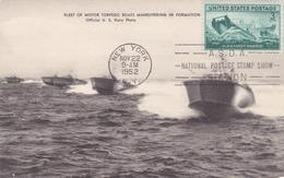 Carte-Maximum ETATS UNIS N° Yvert 489 (GARDES CÔTES) Obl FLAMME Sp 1952 Sur Carte Ancienne RRR - Maximumkarten (MC)