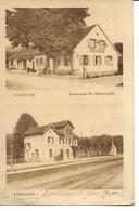 57 - Bannstein - Restaurant Douvernelle + Gare - Autres Communes