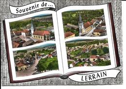 88 - Lerrain - Carte Multivues - Autres Communes