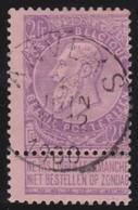 Belgie   .     OBP .      66         .      O     .     Gebruikt   .    /    .     Oblitéré - 1893-1900 Fine Barbe