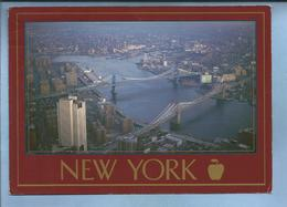 New York City From The Top Of The Trade Towers 2 Scans Bridges (photographer : Richard L. Lemke) - Ponts & Tunnels