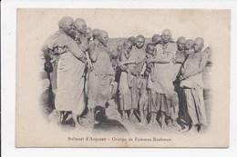 CPA COMORES Sultanat D'Anjouan Groupe De Femme Bushmen - Comores