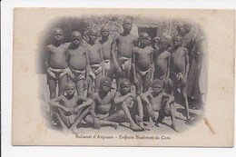 CPA COMORES Sultanat D'Anjouan Enfants Bushmen De Coni - Comores