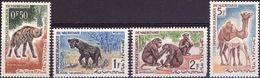 MAURITANIA 1963 - FAUNA, ANIMALI - 4 VALORI NUOVI MNH** - Mauritanie (1960-...)