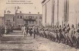 88  GRANGES Sur VOLOGNE  Remise De Décorations Par Les Officiers Italiens - Granges Sur Vologne