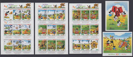 MALI 1996 - Disney ABC - Mi 1622-48 + B93-4; CV=33 € - Fumetti
