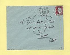 Rieumes - Haute Garonne - CP N°8 - 1962 - Correspondant Postaux - Lautignac - Postmark Collection (Covers)