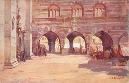 Como, Piazza Del Duomo - Art Card Signed - Como