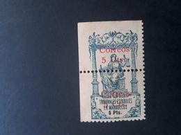 Maroc Espagnol - Marruecos - 1920 - EDIFIL N° 68 Variété Non Dentelé Coin De Feuille Gauche - Maroc Espagnol