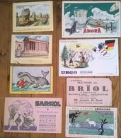 Lot De 8 Buvards - Collections, Lots & Séries