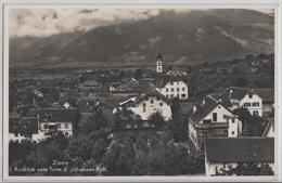 Zizers - Ausblick Vom Turm Des Johannes-Stift - Photo: G. Wenger - GR Grisons