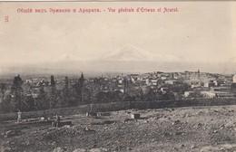 Vue Générale D'Eriwan Et Ararat - Armenia